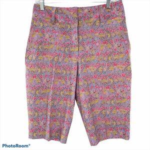 NIKE GOLF | Floral Bermuda Women's Shorts NWOT